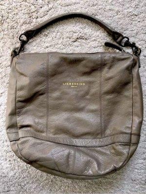 Original Liebeskind Tasche in taupe/grau