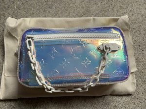 Original limitierte Louis Vuitton volga prism clutch