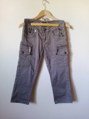 Original LOIS 3/4-Hose Capri mit low waist W27 Military-Style
