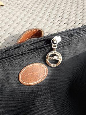 Longchamp Minitasje zwart Textielvezel