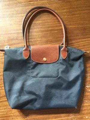 Original Longchamp Le Pilage Tasche blau Gr. S