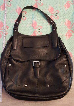 Original Longchamp Leder Handtasche Hobo Balzane