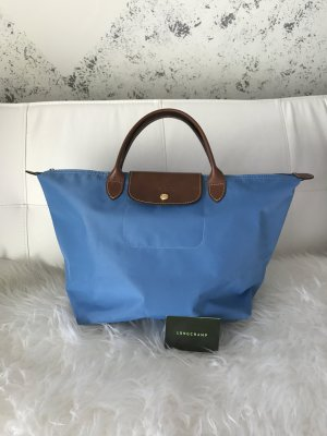 Longchamp Carry Bag cornflower blue polyamide