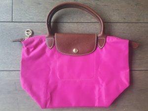 Original Longchamp Tasche Le Pliage S in pink