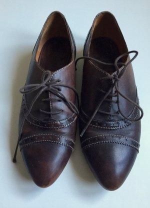 Lottusse Chaussures à lacets multicolore cuir