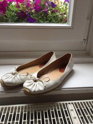 Original Louboutin Espandrilles, Ballerinas aus Leder