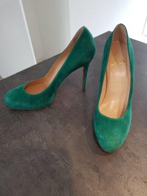 Original Louboutin Schuhe Wildleder 39,5
