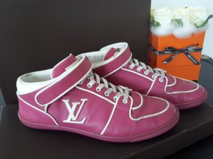 Louis Vuitton High top sneaker roze Leer