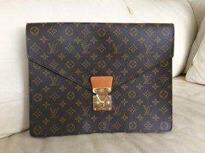 Original Louis Vuitton Aktenmappe / Tasche / Monogram / Unisex