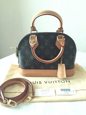 Original Louis Vuitton Alma BB Handtasche Authentic bag super Zustand !