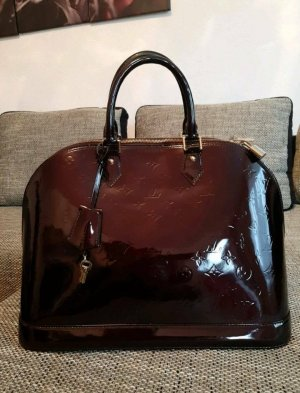 Original Louis Vuitton Alma GM Amarante Tasche Handbag Schnäppchen