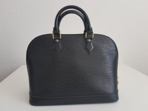 Original Louis Vuitton Alma PM  Black Epi Leather / pre-loved condition