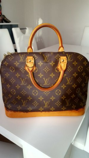 Original Louis Vuitton Alma Tasche.