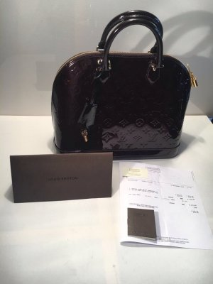 Original Louis Vuitton ALMA VERNIS MM