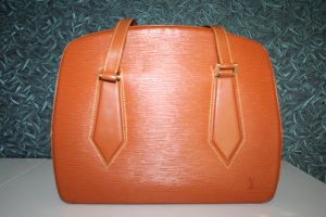 Louis Vuitton Schoudertas camel Leer