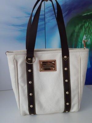 Louis Vuitton Sac Baril blanc-brun