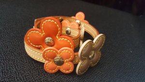 Original Louis Vuitton Armband Leder / Halsband Kaufbeleg Zertifikat