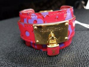 Original Louis Vuitton Armband Schloss pink & Staubbeutel & Rechnung