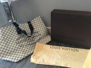 Louis Vuitton Sac à main blanc-bleu