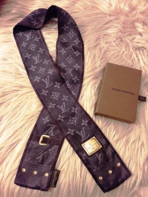 ** Original Louis Vuitton Bandeau Seidentuch mit Monogram-Muster**