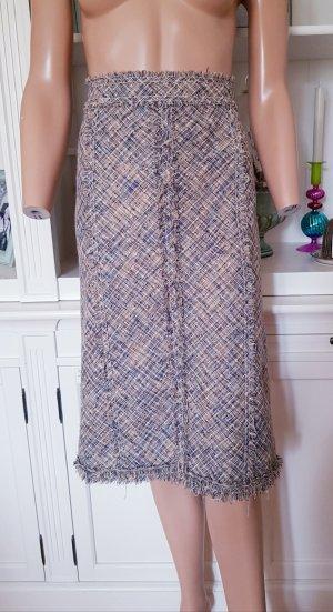 Louis Vuitton High Waist Skirt multicolored linen