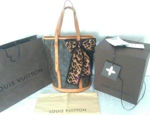 Louis Vuitton Sac brun foncé-brun sable