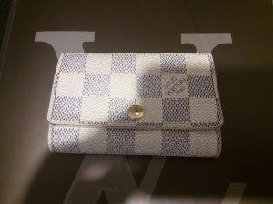 Original Louis Vuitton Damier Azur Schlüsseltasche