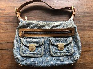 Original Louis Vuitton Denim Baggy PM Jeans MONOGRAM
