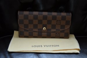 Louis Vuitton Portefeuille brun-brun sable