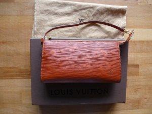 Original Louis Vuitton EPI  Leder Pochette Accessoires wie NEU