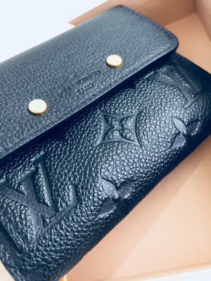 Original Louis Vuitton Geldbörse: Monogram Empreinte Leder
