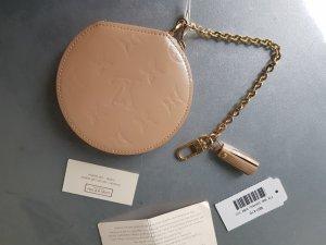 Original Louis Vuitton Geldbörse Vernis Lackleder rose mit Kette & Rechnung