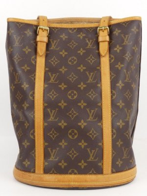 Original Louis Vuitton grande Bucket mit pochette pouch shopper tote
