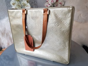 Original Louis Vuitton grosse Tasche Vernis Houston Lackleder & Rechnung
