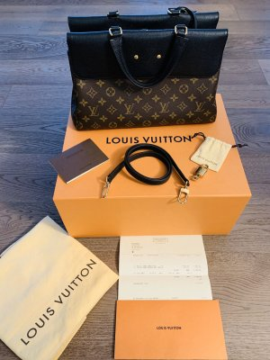 Original LOUIS VUITTON Handtasche Cross Body Bag Modell VENUS in schwarz und Monogram Canvas NEUWERTIG