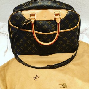 Original Louis Vuitton Handtasche   Deauville