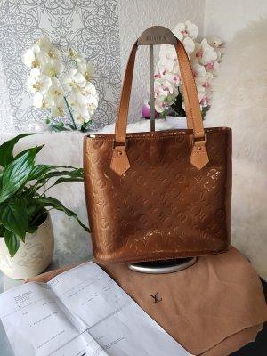 Original Louis Vuitton Houston Vernis Lackleder Tasche & Rechnung