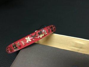 Original Louis Vuitton Inclusion Armband, rot
