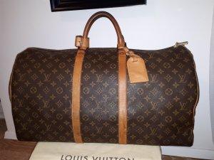 Louis Vuitton Sac de voyage bronze-brun foncé