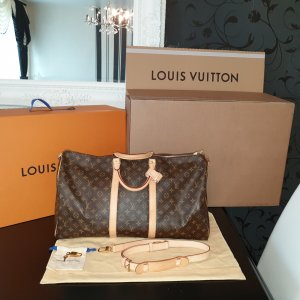 Original Louis Vuitton Keepall 55 mit Gurt