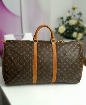 Original Louis Vuitton Keepall 55 Reisetasche
