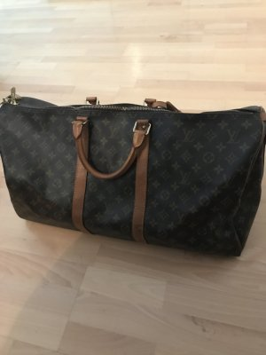 Original Louis Vuitton Keepall Bandouliere 55 Monogram