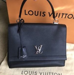 Original Louis Vuitton Lockme ll Noir Full Set