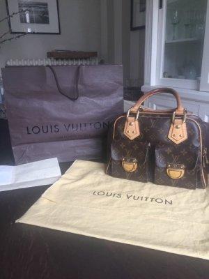 Original Louis Vuitton Manhattan pm Tasche mit Rechnung Top Zustand