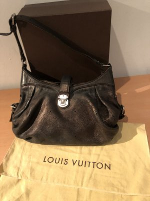 Louis Vuitton Borsellino nero-marrone-grigio