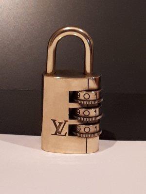 Original Louis Vuitton Messing Zahlenkombinationschloss