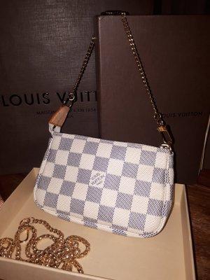 Original Louis Vuitton MINI POCHETTE ACCESSOIRES  Damier Azur M58009