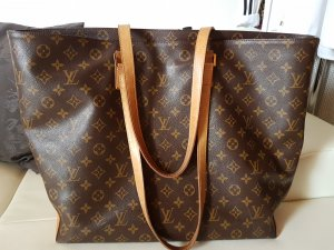 Louis Vuitton Shopper bruin-zandig bruin