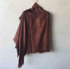 Louis Vuitton Foulard marrone-cognac Seta