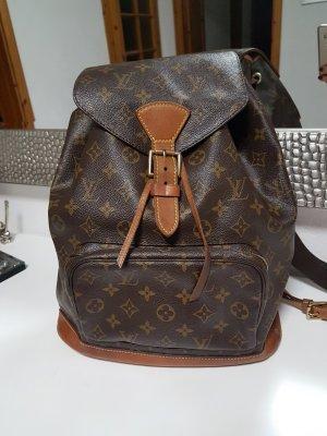 Louis Vuitton Mochila marrón claro-coñac